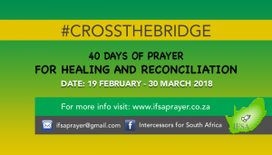 40 Days of Prayer for Healing & Reconciliation