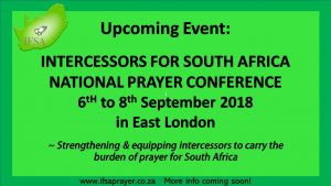 IFSA National Prayer Conference 2018 @ East London